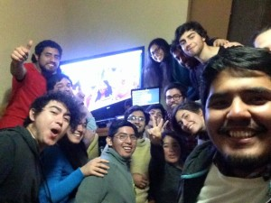 Chile - Francisco Javier Flores Carrasco - skyping with Puerto Rico