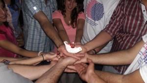 Palestine - Nader Gh - lighting a Kandil of peace(3)