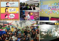 A GEU Guetamala diákjai a társadalmi igazságosság jegyében reggelit adtak az utcai árusoknak az egyetemi kampuszon. Emellett összegyűltek imádkozni, egy diákkör pedig Skype-on keresztül beszélt chilei és brazil diákkörökkel.