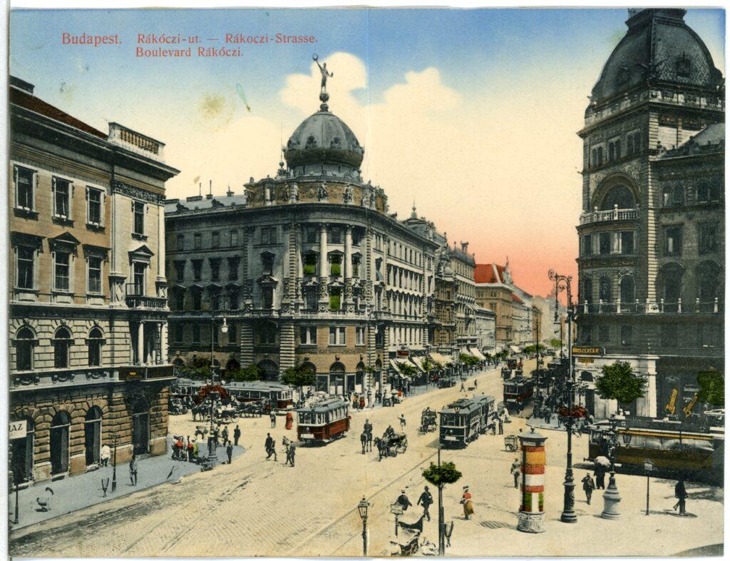 Budapest, Rákóczi út, 1912